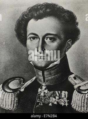 """Karl Von Clausewitz 1780-1831. Carl Philipp Gottfried """"Gottlieb"""" von Clausewitz war ein deutscher (preußischen) - Stockfoto"""