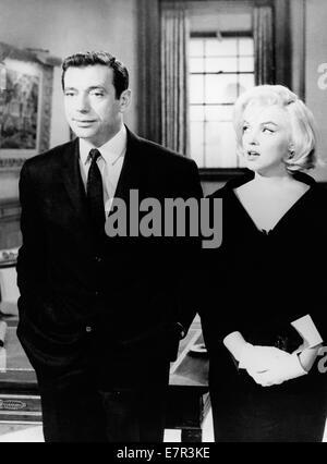 Lassen Sie uns Liebe Jahr: 1960-USA-Regie: George Cukor Yves Montand, Marilyn Monroe - Stockfoto