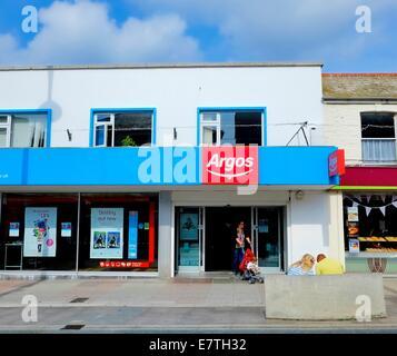 Ein Zweig der Argos Newquay Cornwall England uk - Stockfoto