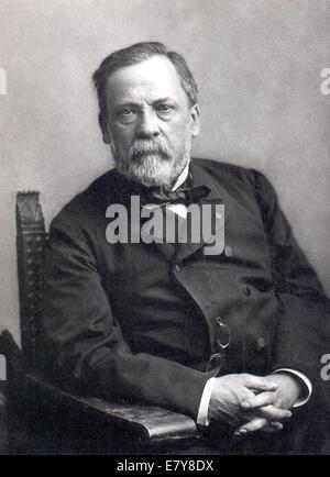LOUIS PASTEUR (1822-1895), französischer Chemiker und Mikrobiologe. Foto von Nadar - Stockfoto