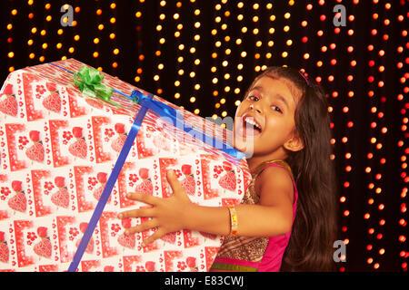 indische Diwali-fest-Geschenk - Stockfoto