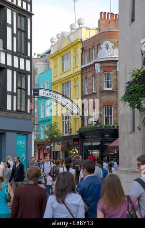 Carnaby Street, London, England, Vereinigtes Königreich, Europa - Stockfoto