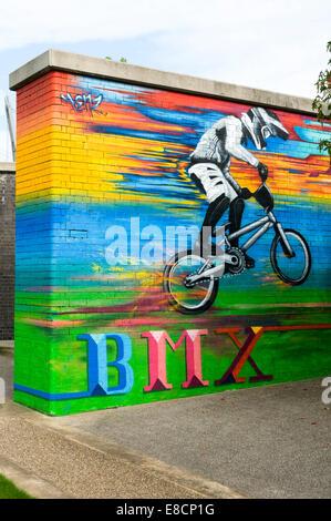 Biker aus Großbritannien