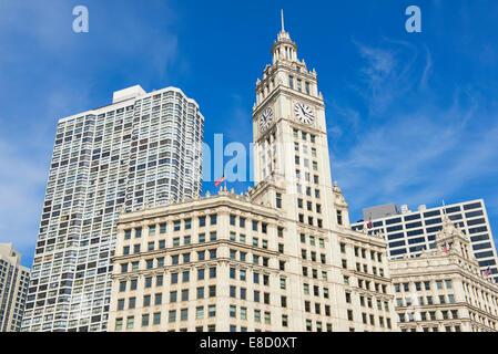 Wrigely Building Chicago Illinois - Stockfoto
