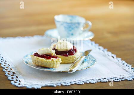 Sahne Tee - Stockfoto