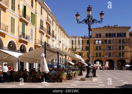 Placa Major, Palma, Mallorca, Spanien. - Stockfoto