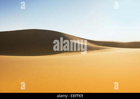 Sanddünen in der Wüste, Sossusvlei, Namibia - Stockfoto