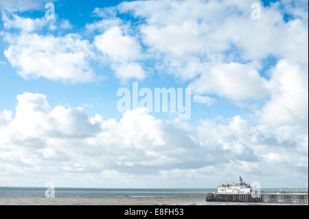 Eastbourne Pier, East Sussex, England, Vereinigtes Königreich - Stockfoto