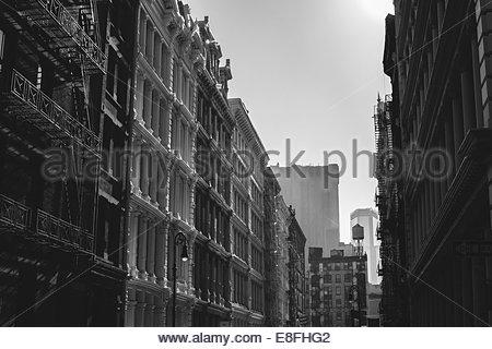 USA, Staat New York, New York City, Soho, Greene Street - Stockfoto