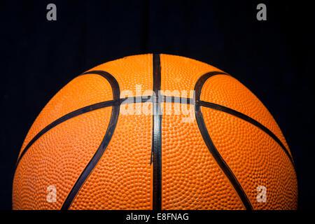 Nahaufnahme von basketball - Stockfoto