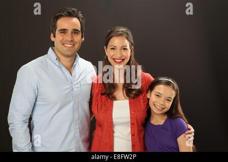 Ansicht von Family portrait - Stockfoto