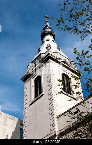 Abtei St. Nicholas Cole, Queen Victoria Street, London, UK - Stockfoto