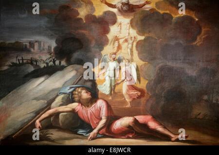 Eremitage-Museum. Die Loggia von Raphael. Biblische Szene - Stockfoto