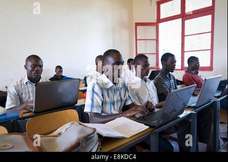 Ruanda, BUTARE: The National University of Rwanda (NUR) ist der erste und größte Universität in Ruanda. - Stockfoto