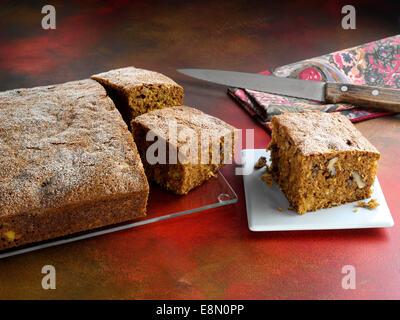 Karotte-Kuchen - Stockfoto