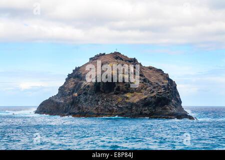 Felsen von Garachico. Teneriffa, Kanarische Inseln, Spanien - Stockfoto