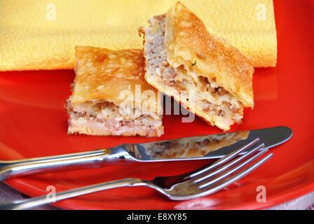 Köstliche hausgemachte Kuchen - Stockfoto