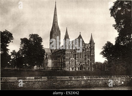 Kathedrale von Salisbury, Salisbury, England, Vereinigtes Königreich