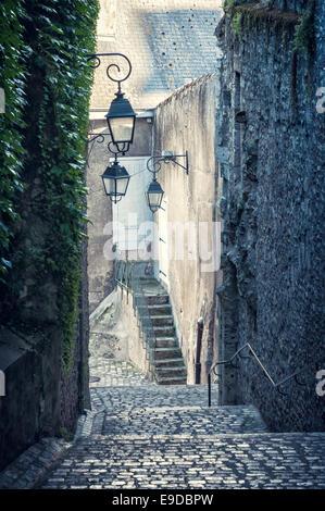 Ecke Straße in Blois - Stockfoto