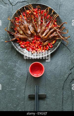 Chinesischer Küche geschmorte Ente Zungen - Stockfoto