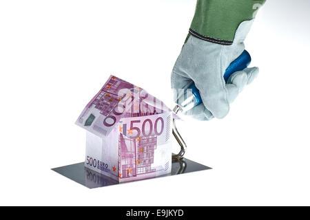 500 euroscheine stockfoto bild 19072353 alamy. Black Bedroom Furniture Sets. Home Design Ideas