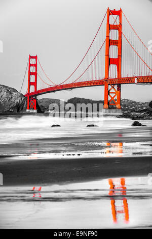 Golden Gate, San Francisco, Kalifornien, USA. - Stockfoto