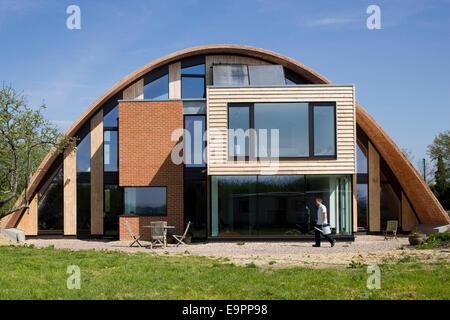 Haus Fassade, Crossway, Kent, England, UK. - Stockfoto