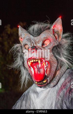 Southport, Merseyside, England. 31. Oktober 2014.  Das Happy Halloween Spookport Festival in Freude Land Southport. - Stockfoto