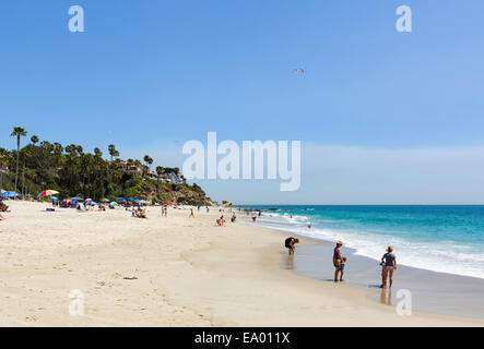 Der Strand von Aliso Beach State Park, Laguna Beach, Orange County, Kalifornien, USA - Stockfoto