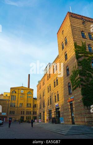Kulturbrauerei, 18. C Brauerei umgebaut ein Kulturkomplex, Bezirk Prenzlauer Berg, Berlin, Deutschland - Stockfoto