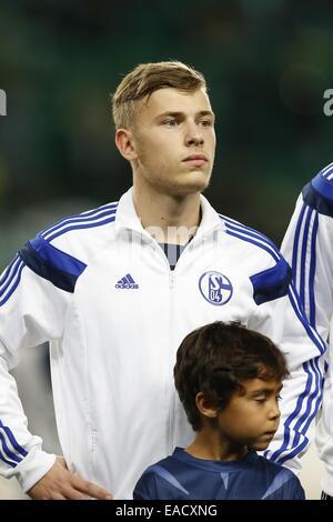Lissabon, Portugal. 5. November 2014. Max Meyer (Schalke) Fußball: UEFA Champions League-Gruppe G-match zwischen - Stockfoto
