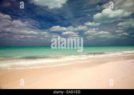 Strand, Cayo Levisa, Pinar del Río Provinz, Kuba - Stockfoto