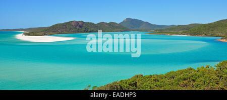 Whitehaven Beach in den Whitsunday Islands, Australien - Stockfoto