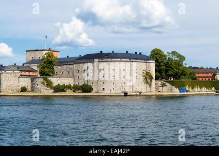 Alte Festung Vaxholm, Stockholm, Schweden - Stockfoto