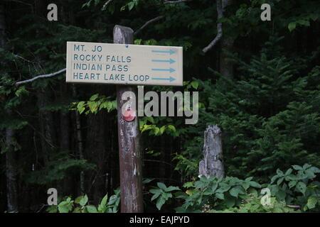 Wanderweg in Lake Placid, New York Foto von Jen Lombardo - Stockfoto