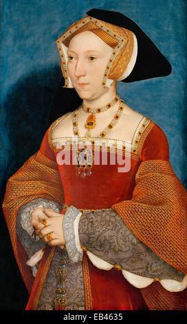 Jane Seymour wurde Henry VIII. die dritte Ehefrau von Hans Holbein dem jüngeren - Stockfoto