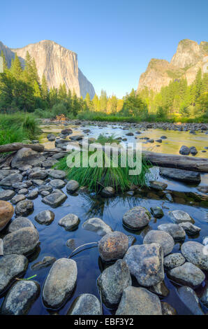 Die kultigen Talblick im Yosemite National Park