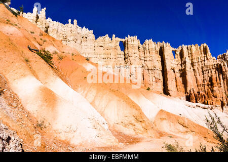 Wand von Windows. Bryce-Canyon-Nationalpark, Utah, USA. - Stockfoto
