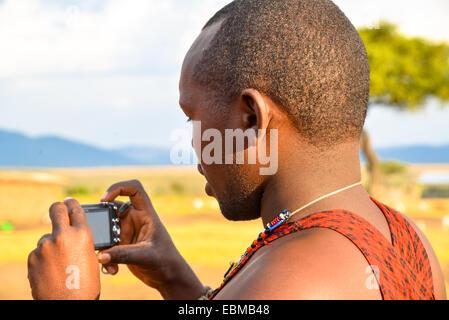 Masai Mara in kenia - Stockfoto