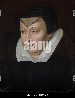 ActiveMuseum_0001915.jpg / Catherine de Medici, Ehefrau von König Henry II., Königin von Frankreich, ca. 1570 26/09/2013 - Stockfoto
