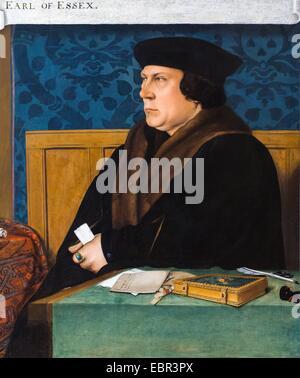 ActiveMuseum_0003625.jpg / Thomas Cromwell, Earl of Essex, 1533 - nach Hans Holbein der jüngere 22.01.2014 - / 16. Jahrhundert Sammlung / aktive Museum Stockfoto