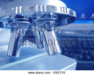 Mikroskop - Stockfoto