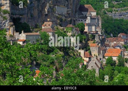 Rocamadour, Midi-Pyrénées Region, viele Abteilung, Frankreich, Europa - Stockfoto