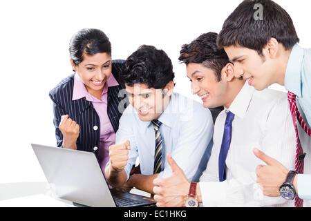indische Unternehmen Business-partner - Stockfoto