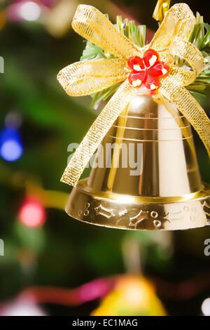 Weihnachtsbaum-Festival bell niemand - Stockfoto