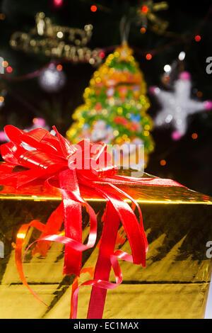 Weihnachtsfest Geschenk niemand - Stockfoto