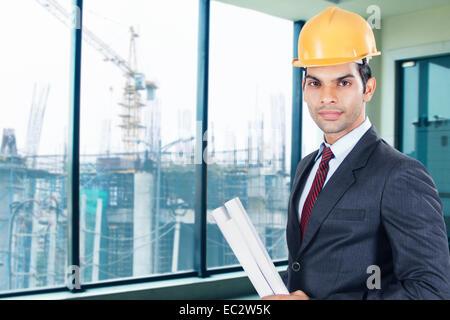 Indischer Architekt Mann - Stockfoto