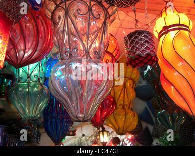 Glaslampen in Kairo - Stockfoto