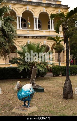 Mauritius, Port Louis, Kunststoff Dodo außerhalb Natural History Museum in Mauritius Institutsgebäude, - Stockfoto