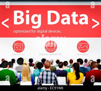 Digitale Online-Business Konferenz Bürokonzept - Stockfoto